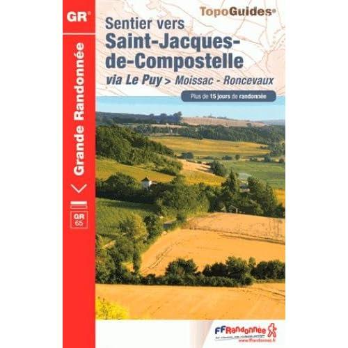 Sentier vers Saint-Jacques-de-Compostelle via Le Puy > Moissac-Roncevaux