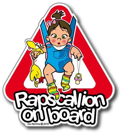 Rapscallion on board (girl)
