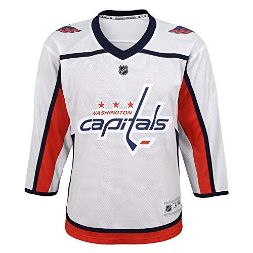 MJLXY NHL Hockey Trikot Washington Capitals Eishockey Trikot Langarm T-Shirt 2018 Neue Saison,Weiß,M