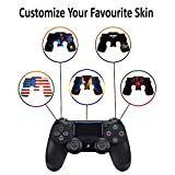 Custom PS4 Dualshock 4 Controller Skin Custom Console Pro Modded Chip Mehrfarbig Custom-PS4-Controller- Non-Modded