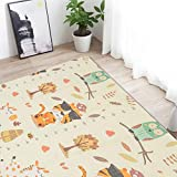 Tier Cartoon Krabbeldecke Kletterkissen XPE Folding Crawl Pad Säuglingsspielmatte Baby Teppich Entwicklung Matte für Kinder Game Pad 1,5 cm x 1,8 m x 2 m