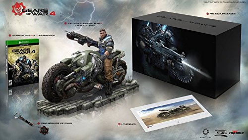 Gears of War 4: Collector's Edition (Includes Ultimate Edition SteelBook + Season Pass + Early Access) - Xbox One Ultimate Access-serie