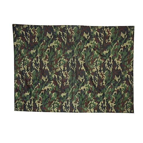 Camouflage net,rete impermeabile campeggio shelter tenda tarp, camouflage outdoor portatile leggero antipioggia mat raintent telo coperta spiaggia picnic coperta mat(2 * 1.5m)