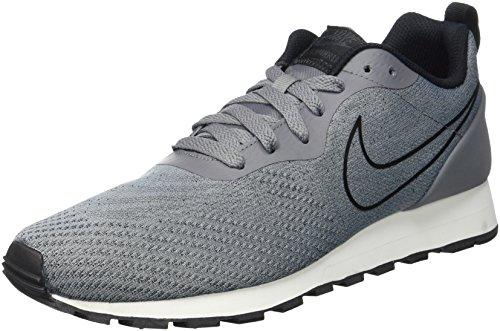 Nike Herren MD Runner 2 Eng Mesh 916774-001 Sneaker, Mehrfarbig (Grey 001), 45.5 EU -