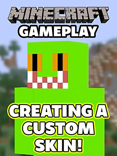 Clip: Minecraft Gameplay - Creating A Custom Skin! [OV] - Mascot-clip