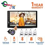 myTVS TAV-40 Double Din HD Touch Screen Car Stereo Media Player with Bluetooth/USB/MP5/MP3