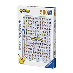 Ravensburger Pokémon rompecabeza Pokédex 1ª generación 500Piezas, 14781
