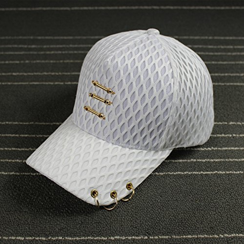 upper-filet-respirant-cap-hat-ring-metal-printemps-et-ete-ombrageajustablewhite
