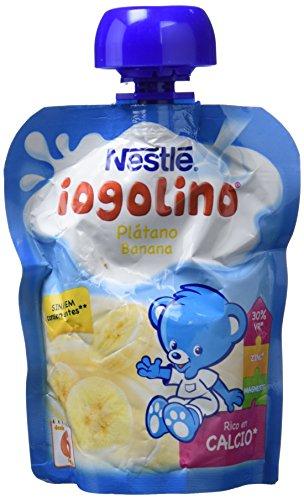 Nestlé Iogolino Bolsitas con Plátano A Partir De 6 Meses - 90 g
