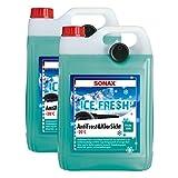 2x SONAX 01335410 Antifrost&KlarSicht bis -20°C IceFresh ScheibenReiniger 5L