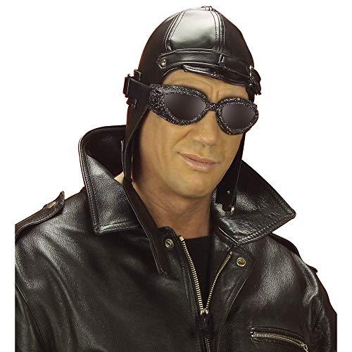 Kostüm Brille Hut Aviator Und - WIDMANN Fliegerhut