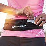Laufgürtel für Handy Smartphone Schlüssel Hüfttasche, Running Belt, Sport-Bauchtasche, Jogging Fitness Gürtel iPhone 6 & 7 plus, Unisex, Für Training in Fitness-Club, Übungen, Radfahren, Gehen, Yoga