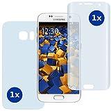 2 x mumbi PreForm Schutzfolie für Samsung Galaxy S7 (vorgeformter PET Displayschutz passgenau für das gebogene Display)
