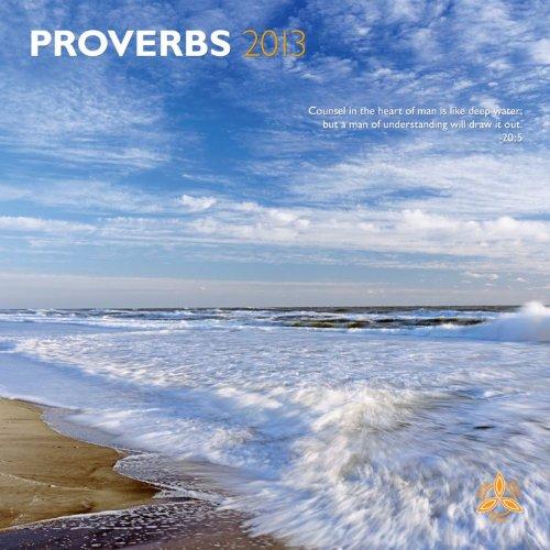 Proverbs 2013 Square 12x12 Wall Calendar