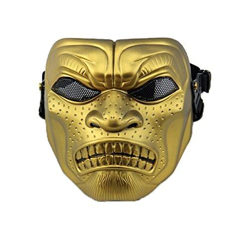 Alamor Halloween Skull Gesichtsmaske Cosplay Party Filmrequisiten - Aktivitäten Halloween-indoor-spiele Und