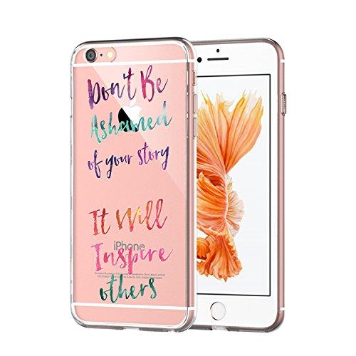 iPhone 6s Plus/iPhone 6 Plus Cover (5.5 pollici),Transparent Custodia Antiuroto Ultra Sottile Bumper Soft Morbido TPU Gel Silicone Protettiva Case per iPhone 6s/iPhone 6 Gel di silice 7