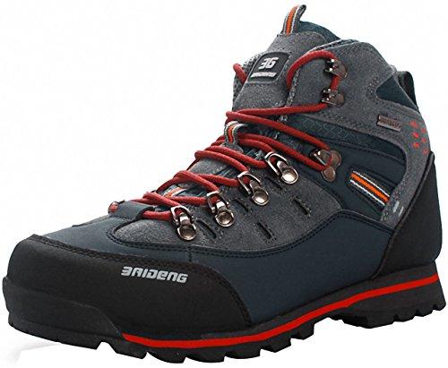 Weweya Hombres Botas de Senderismo Zapatos de