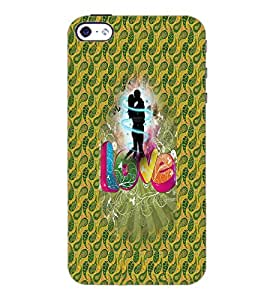 PrintDhaba Love D-3551 Back Case Cover for APPLE IPHONE 4S (Multi-Coloured)