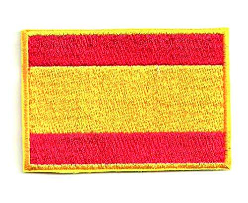 Losparches Parche bordado BANDERA ESPAÑA 4CM x 3CM