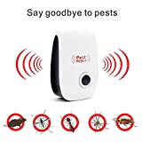 #10: Banggood Reject Ultrasonic Pest Repeller, Control For Mosquitoes, Mice, Ants, Roaches, Spiders, Lizards, Flies, Bugs
