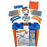 Hot Wheels- Track Builder Deluxe Stunt Box, Playset con Componenti Pista Assortiti, Giocattolo per Bambini 4+ Anni, GGP93