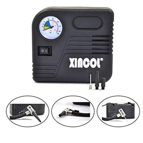 XINCOL B90 12V 150PSI Zigarettenanzünder Chage Mini Auto Luft Kompressor Portable Reifen Inflator & Pump Werkzeug für alle Auto, Motorrad, Bälle und Luft Kissen Inflation