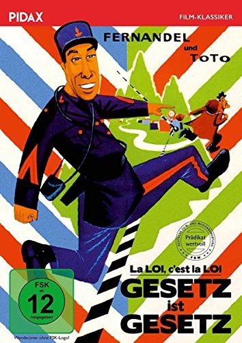 Bild von Gesetz ist Gesetz (La LOI c'est la LOI) / Komödie mit Fernandel (bek. als Don Camillo) und Totò mit dem Filmprädikat WERTVOLL (Pidax Film-Klassiker)