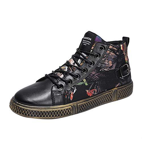 Meilleure Vente!Chaussures de Sport pour Homme Automne & Hiver Baskets Montantes Chaussures de Danse de Rue,LuckyGirls Chaussures de Pont décontractées 39-44