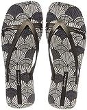 Ipanema Damen Fashion Kirey V Fem Zehentrenner, Mehrfarbig (Grey/Black), 38 EU