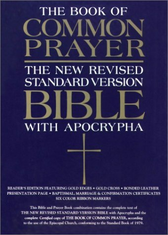 The 1979 Book of Common Prayer and the New Revised Standard Version Bible with the Apocrypha by Not Available (1993-11-11) (Common Book Prayer 1979 Of)
