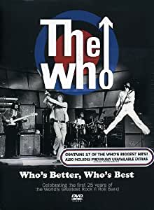 The Who: Who's Better Who's Best [DVD] [2006]