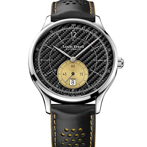Louis Erard 1931 Automatik Uhr, Schwarz, Limitierte Edition, 33226AA32.BVA44