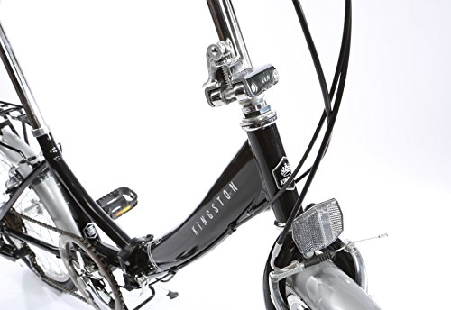 Kingston Freedom Folding Bike – Black