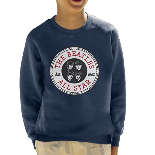 The Beatles All Star Converse Logo Kid's Sweatshirt (All-star-spiel-logo)