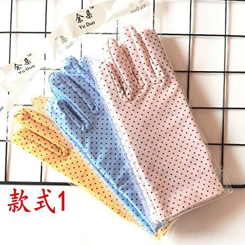 Damen Schiedsrichter Kostüm Ideen - GBSTA Weiße Handschuhe Sommer Sonnenschutzhandschuhe