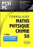 Formulaire PCSI/PC, mathématiques, physique, chimie, SII (1er semestre)
