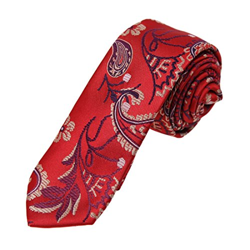 dan-smith-corbata-estampada-de-microfibra-dae7b07-09-rojo-dae7b08h-red-wheat-talla-unica