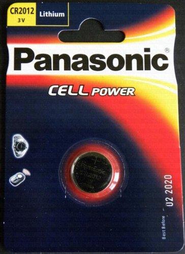 Panasonic CR2012 Lithium-Knopfzelle, 3 V, 1 Stück