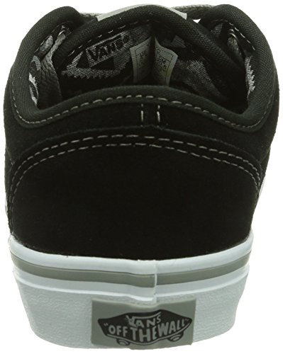 Vans - Sneaker Y ATWOOD (SUEDE) BLACK/G, Unisex - bambino Nero (Schwarz ((Suede) black/g EYC))