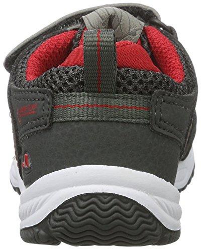 Viking Unisex-Kinder Cascade Ii Gtx Outdoor Fitnessschuhe Grau (Charcoal/Red)