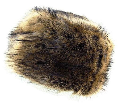 Itzu Ladies Womens Luxury Faux Fur Russian Cossack Hat Ski Winter