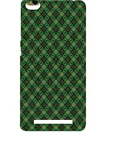 EPICCASE greenish florist Mobile Back Case Cover For Xiaomi 3S Prime (Designer Case)