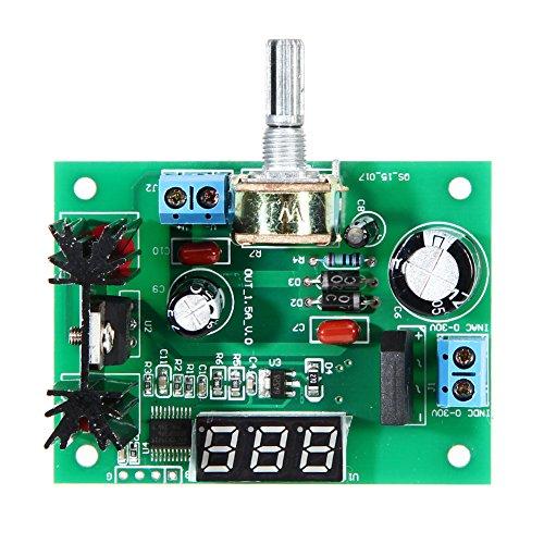 LM317 AC/DC Adjustable Voltage Regulator Step-down Power Supply Module W/LE