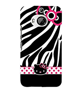 For HTC One M9 Plus :: HTC One M9+ :: HTC One M9+ Supreme Camera kitten Printed Cell Phone Cases, cat Mobile Phone Cases ( Cell Phone Accessories ), zebra Designer Art Pouch Pouches Covers, animals Customized Cases & Covers, cute Smart Phone Covers , Phone Back Case Covers By Cover Dunia