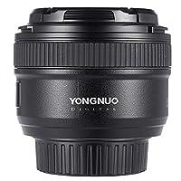 YONGNUO YN50mm F1.8 Large Aperture AF Auto Focus FX DX Full Frame Lens for Nikon w/ AndoerŽ Cloth
