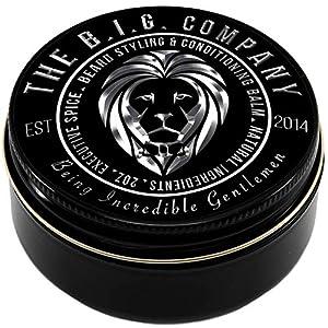B.I.G. Beard Balm – Bart Balsam 60 ml – eBook Included