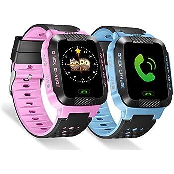 Pueri 1.44in Smartwatch para Niños Reloj Inteligente Pantalla ...
