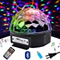 Disco Lights, SPECOOL 7-Color Sound Activated Stage Strobe Effect Show Wedding Lighting Bulb Kids Night