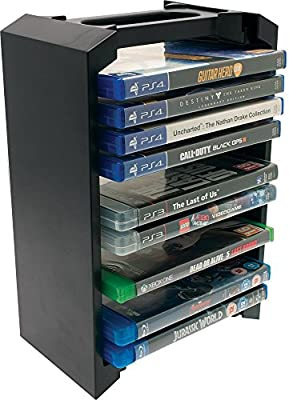 Universal Games and Blu-ray Storage Tower (PS4/PS3/Xbox One) - inexpensive UK light store.