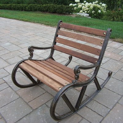Oakland Living Kiddy Rocker No Size Antique Bronze